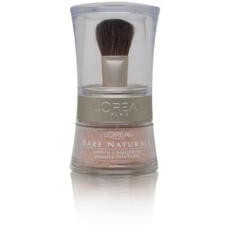 りんご平行ペアL'Oreal Bare Naturale Gentle Mineral Eyeshadow Bare Nude 846