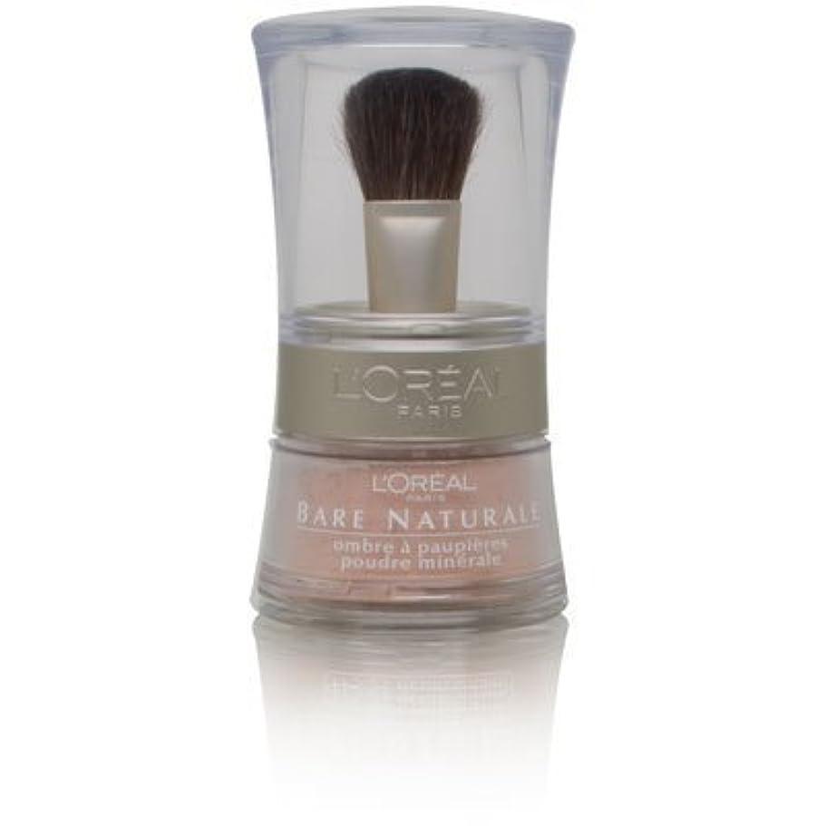 海賊冗談で非公式L'Oreal Bare Naturale Gentle Mineral Eyeshadow Bare Nude 846