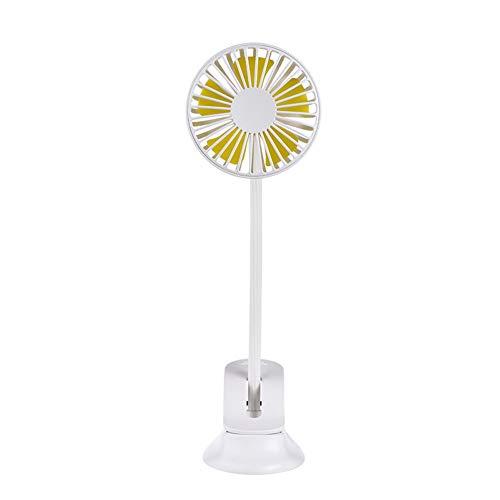 Ventilator Met Clip Clip Op Fan Batterij Aangedreven Clip Op Fans Cooling Clip Op Bureau Ventilator Bureau Clip Fan Clip Op Fan Oplaadbare white