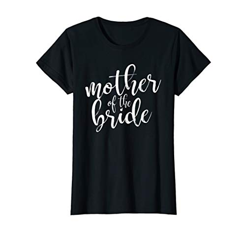 Womens Mother Of The Bride Matching Wedding Party T-Shirt