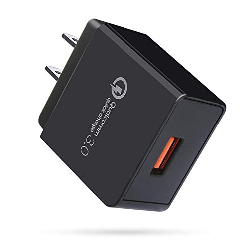 HOPEPOW qc3.0充電器 qc3.0アダプー USB急速充電器 Quick Charge 3.0充電器 PSE 認証済 / 18W / QC3.0 アダプー アンドロイド充電器 Type C急速充電コンセント USBコンセント iPhoneコンセント タブレット充電器 携