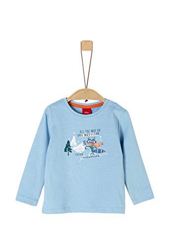 s.Oliver Baby-Jungen 65.909.31.8916 T-Shirt, Blau (Blue 5312), (Herstellergröße: 80)