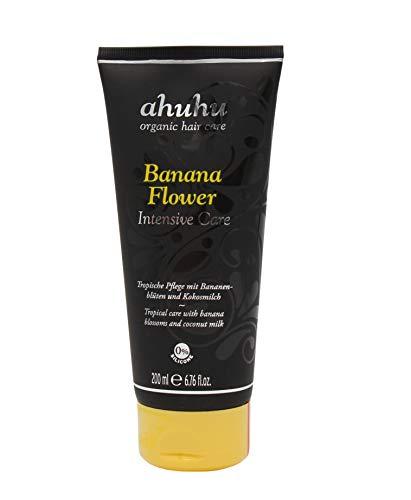 ahuhu organic hair care Intensive Care Bananaflower - 200ml Haarkur mit Extrakten aus der Bananenblüte und Kokosmilch