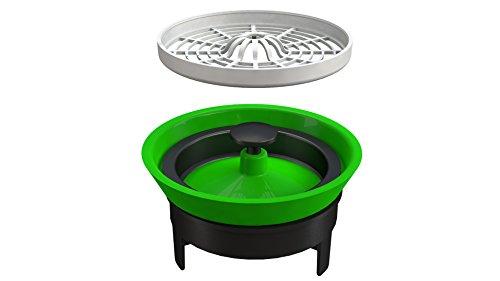 Bonomini 6229AR90B4 Valvola Meccanica di Non Ritorno Anti-Odore, Grigio/Verde