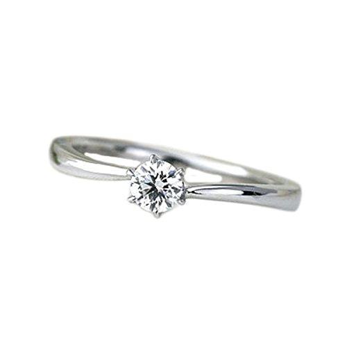 婚約指輪 エンゲージリング (鑑定書付) プラチナ ダイヤモンド リング 0.2ctアップ Excellentカット ハートアンドキューピット(h&c) SIクラスアップ Gカラーアップ ティファニー爪セッティング ENGAGERING ラウンドブリリアン