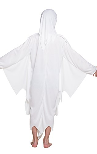 Boland- Costume Fantasma Bambino Spooky Ghost, Bianco, 140, 78110