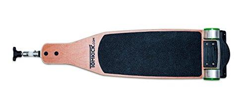 TOMKICK Skateboard Longboard für Kinderwagen - der Tretroller für den Buggy – passend für viele Modelle - Buggyboard, Trittbrett, Kiddyboard, Rollbrett, Board (Typ S)