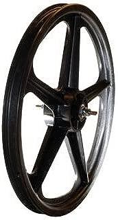 Skyway Tuff II 5 Spoke Mag 3/8 Nutted 20 x 1.75 Freewheel Black Wheel Set