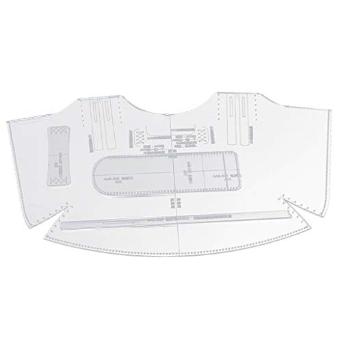 5 Teile Acryl klar Vorlage Tasche Damen Handtasche Schultertasche Schablone für Leder-Handwerk