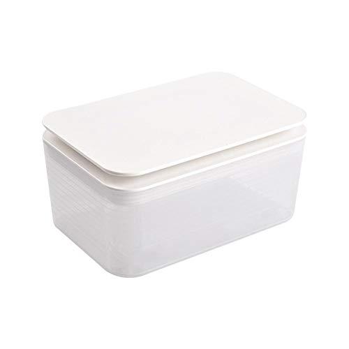 TARTIERY Feuchttücherbox Pflegetücher-Boxen Feuchttücher Aufbewahrungsbox Aus Kunststoff Feuchttücher Spender Feuchttuchbox Papieretui, Serviettenbox Mit Deckel Für Zuhause, Büro