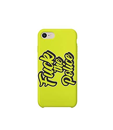 Rap Police 02_MRZ0263 - Funda protectora de plástico duro para teléfono inteligente, diseño divertido para iPhone Xs MAX
