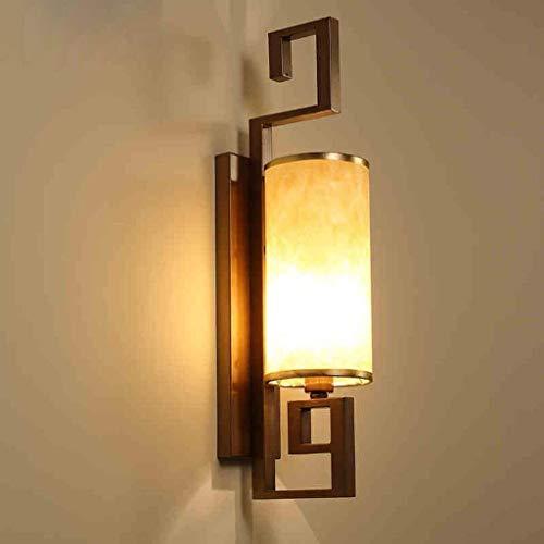 HYY-YY Pared Modernos Chinos Retro Sala de Estar Luces del Dormitorio de Noche la lámpara de Pared del Hierro, del Hotel lámpara se Enciende Las Luces del Restaurante