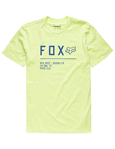 Fox Non Stop SS Premium Tee – Camiseta para hombre amarillo M