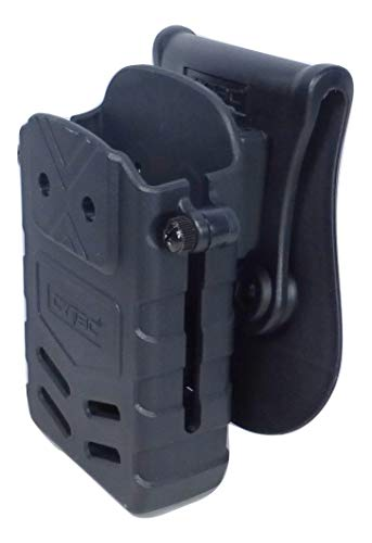 Tactical Scorpion Rifle Polymer Magazine Belt Paddle Pouch Fits: M - AR Magazine