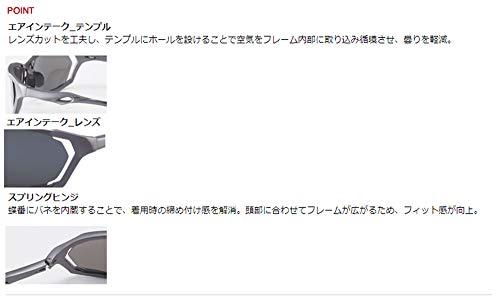 AXE(アックス)サングラス偏光レンズUVカットASP-390ガンメタル(GM)