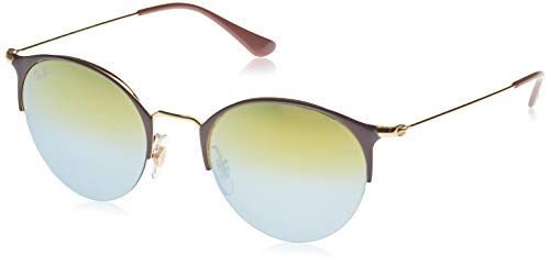 Ray-Ban 3578 Gafas de sol, Gold Top Turtle Dove, 51 Unisex-Adulto