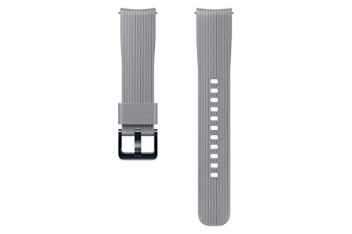 Samsung Silikon Armband (20mm) für Galaxy Watch 42 mm, Grau