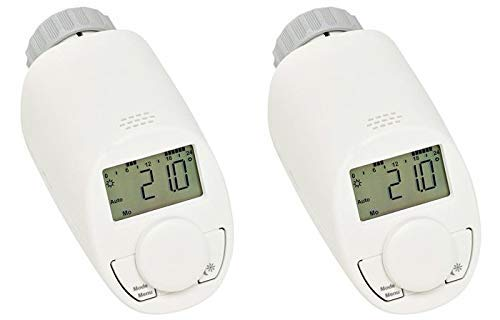 eqiva 2X Energiespar-Regler Model N für Heizkörperregler Thermostatventil