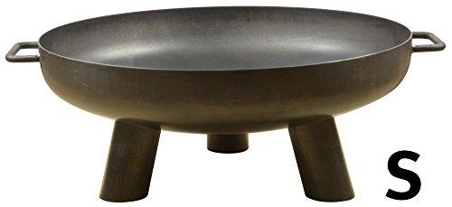 Esschert Design Stahlfeuerschale aus Stahl, 67,7 x 60,0 x 24,0 cm