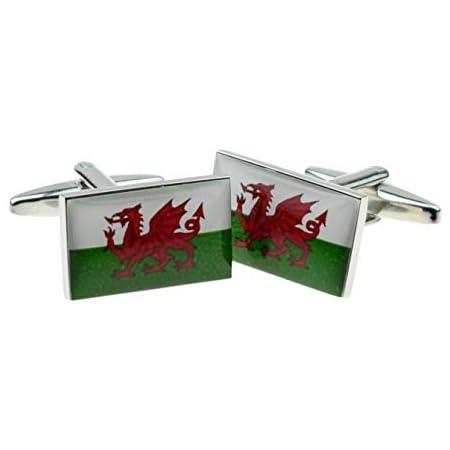 Welsh Red Dragon Cufflinks