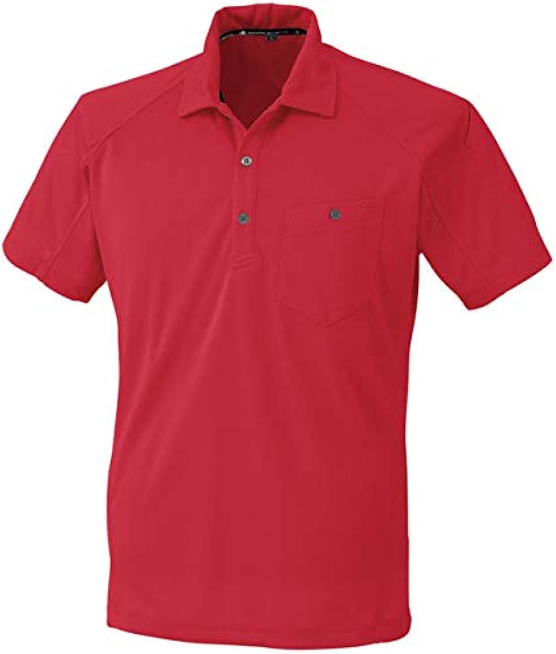 付属品ご覧ください暫定のコーコス 半袖ポロシャツ レッド 4L ※取寄品 A-4377