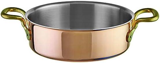 Paderno Saucepan copper 3 ply Series 15500 (d.28 cm – h.9 cm – 5,5 lt)