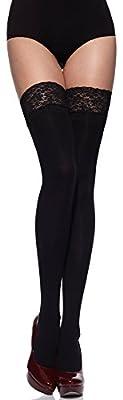 Merry Style Women's Hold Up Stockings Microfiber 40 DEN MSSSJ01