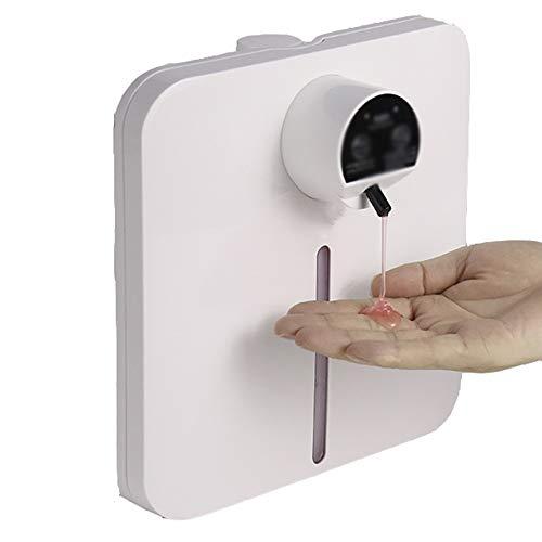 JISHIYU Inteligente Liquid 1300 ml Espuma de jabón dispensador automático de jabón de Mano dispensador de desinfectante de Touchless Manos Libres de sobremesa montado en la Pared de la Cocina Baño