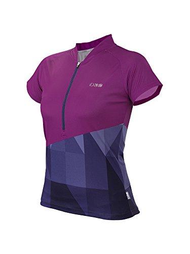 IXS Damen Jersey Sablun, purple/Blue, 38