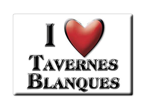 Enjoymagnets TAVERNES BLANQUES (V) Souvenir IMANES DE Nevera ESPAÑA COMUNITAT