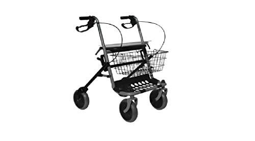 Deambulatore per anziani | Deambulatore 4 ruote pieghevole