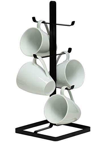 NeatO Metal Mug Tree Holder Organizer Rack Stand