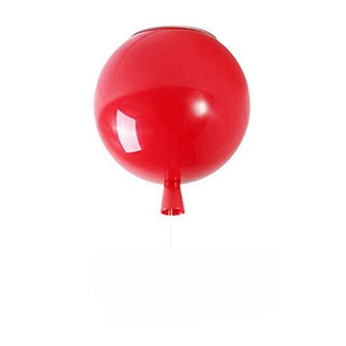 Fenglian Bunte Luftballons Dekorative Deckenlampe Kronleuchter LED Cartoon Stil Kinderzimmer Beleuchtung Deckenlampe Home Schlafzimmer Deckenbeleuchtung Hängelampe E26 / grün