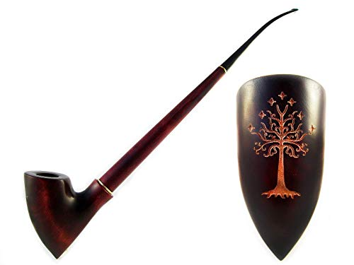 Fashion NEW Churchwarden Smoking Tobacco Pipe LOTR