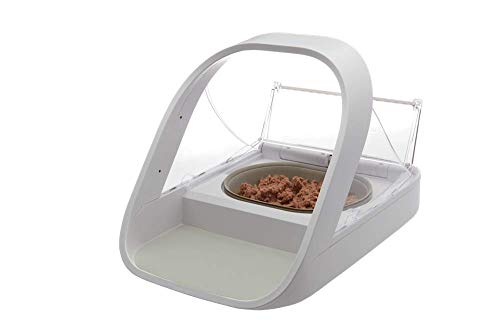 SureFeed Microchip Pet Feeder, White (4 x C batteries required)