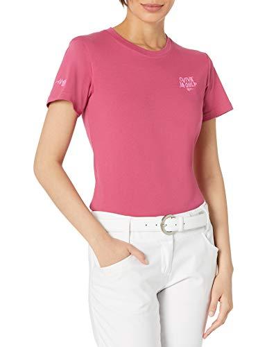 adidas Golf Women's Viva La Golf Graphic T-Shirt, Pink, Medium