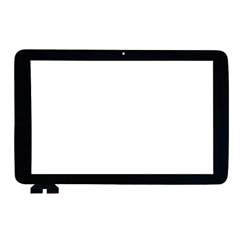 TheCoolCube Touch Digitizer Replacement Screen Glass Compatible with LG G Pad 10.1 V700 VK700 (Not Include LCD) (Black)