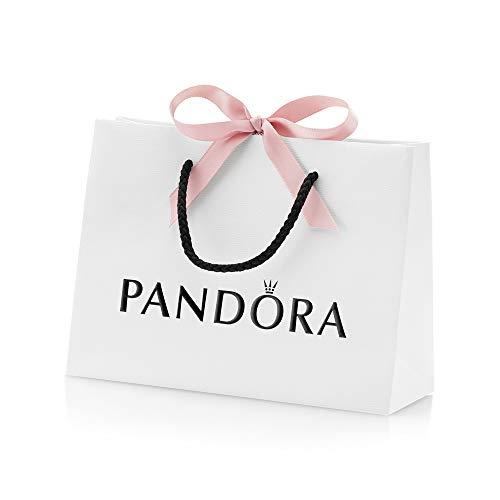 Pandora - Borsa media, 21,5 x 16 x 6 cm, con nastro rosa