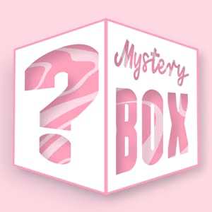 Glam Lux Beauty Bundle Mystery Box of 5 Full Size Cosmetic Products, Great gifts under $10, Includes a range of products eyeshadow, eyeliners, lip liners, glitter, lip gloss, bronzers, & highlighters