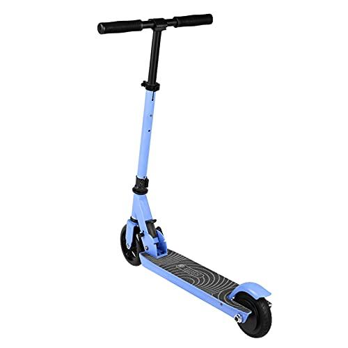 BANGNA Wheel Scooter, Patinete eléctrico, Potencia máxima de 350 W, Batería Intercambiable, with App, Ruedas Tubeless antirreventón de 8.5',Azul