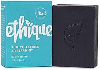 Ethique Eco-Friendly Bodywash Bar, Pumice, Tea Tree & Spearmint, Sustainable Natural Bodywash for Deep Cleanse & Exfoliati...