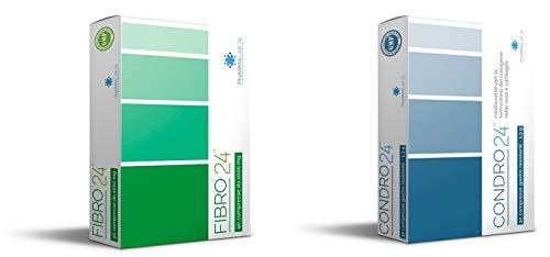Pacchetto Controllo del Dolore - Fibro24 e Condro24 - Contrasto ad Ogni Tipo di Dolore