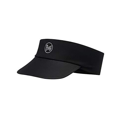 Buff Erwachsene Pack Run Visor, R-Solid Black, One Size