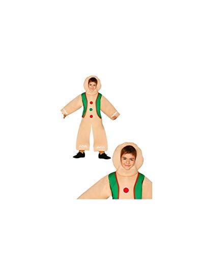 DISBACANAL Disfraz Galleta de Jengibre Infantil - -, 3-4 años