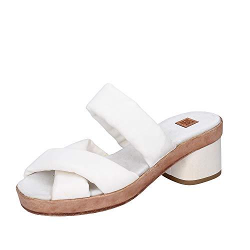 MOMA sandalen Damen leder weiß 37 EU