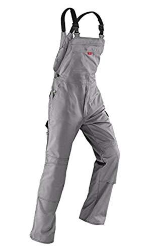 Kübler Inno Plus Uni-Dress mittelgrau Arbeitshose Gr. 54 / Latzhose /Diensthose