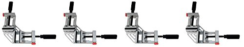wolfcraft 3415405 Quick-Jaw Right Angle 90 Degree Corner Clamp (4-(Pack))