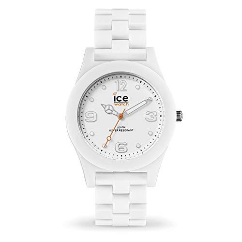 Ice-Watch - Ice Slim White Matte - Orologio Unisex con Cinturino in Plastica - 016245, Medium, Bianco