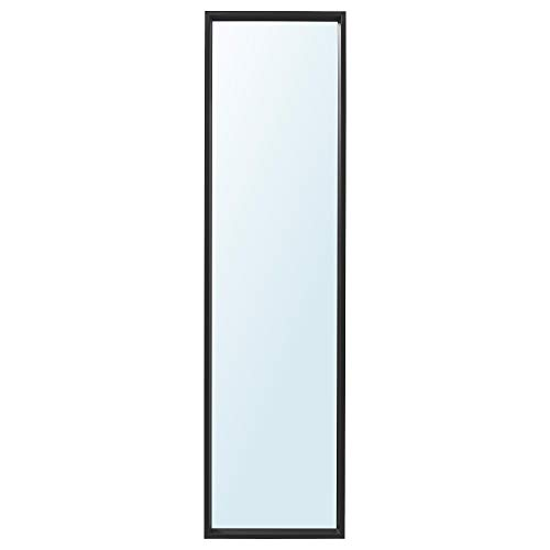 NISSEDAL spegel svart (40 x 150 cm)