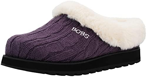 BOBS from Skechers Women's Keepsakes Delight Slipper, Purple, 9 M US